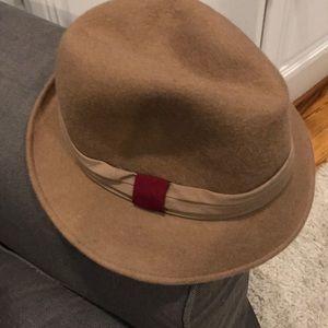 GAP tan wool hat